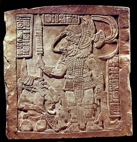 Maya sculpture from Yaxchilan